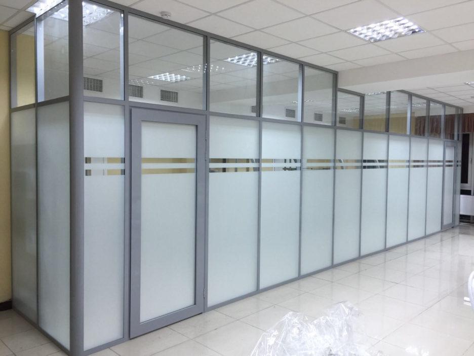 Купить офисные перегородки и профильные системы
